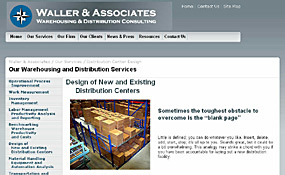 Waller & Associates Warehousing and Distribution Consulting Corporate Site